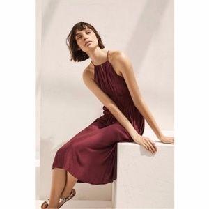 NWT ANTHROPOLOGIE Juniper Smocked Halter Dress